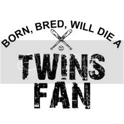 Born Minnesota Twins Fan T-shirt